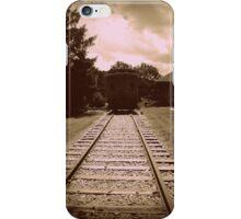 Antiqued Train iPhone Case/Skin