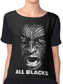 all blacks Chiffon Top