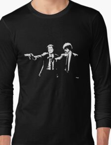 John and Samuel with the gun says hands up Pulp Long Sleeve T-Shirt