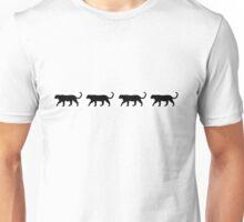 walking panthers Unisex T-Shirt