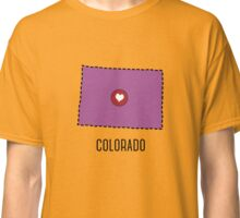 Colorado State Heart Classic T-Shirt