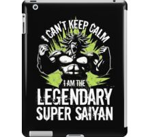 Super Saiyan Broly Shirt iPad Case/Skin