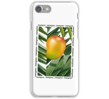 MANGOES iPhone Case/Skin