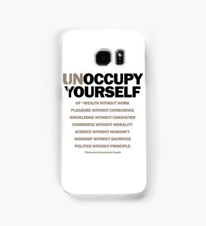unoccupy yourself (version 2) Samsung Galaxy Case/Skin