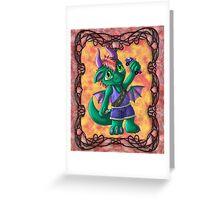 Kootie Patootie #2: Kaleb Greeting Card