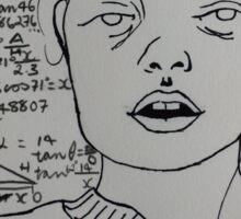 Trigonometry Sticker