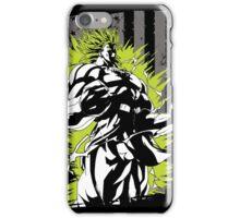 Super Saiyan Broly Shirt iPhone Case/Skin