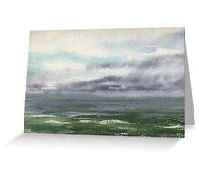 Ocean Storm Seascape Greeting Card