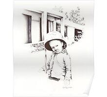 Vietnam~Through my Dads Camera Lens~Vietnamese Boy Poster