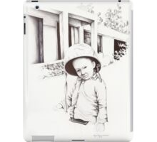 Vietnam~Through my Dads Camera Lens~Vietnamese Boy iPad Case/Skin