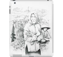 Vietnam~the suffering of War~through the lens of my Dads camera iPad Case/Skin
