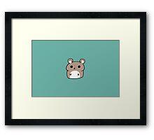 Chibi Hamster Framed Print