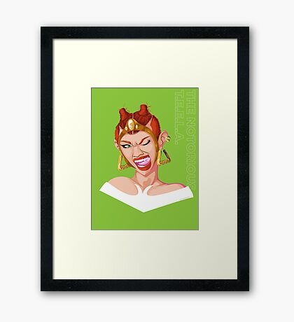 Teela - Rappers of the Universe [He-Man] Framed Print