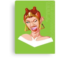 Teela - Rappers of the Universe [He-Man] Canvas Print