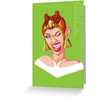 Teela - Rappers of the Universe [He-Man] Greeting Card