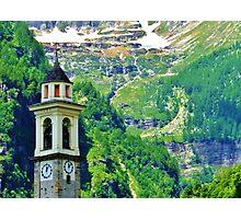Alpine Steeple Photographic Print