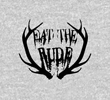 Eat the Rude - black Unisex T-Shirt