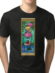 Mario Meets the Mansion Tri-blend T-Shirt