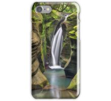 Secluded Waterfall iPhone Case/Skin
