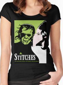 Stitches Women's Fitted Scoop T-Shirt