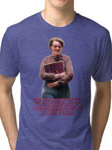 Barb Stranger Things Tri-blend T-Shirt
