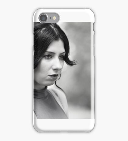Natural light portrait iPhone Case/Skin