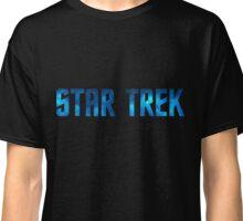 Star Trek Title (Stars) Classic T-Shirt