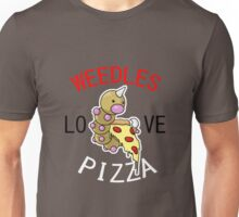 Weedles Love Pizza Unisex T-Shirt