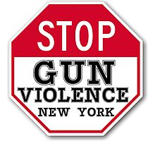 STOP GUN VIOLENCE NEW YORK Photographic Print