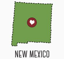New Mexico State Heart Kids Tee