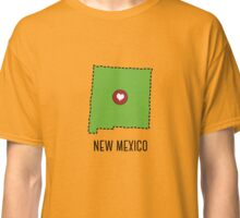 New Mexico State Heart Classic T-Shirt