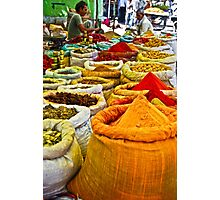 Masala Bazaar Photographic Print
