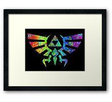 Legend of Zelda - Triforce Framed Print