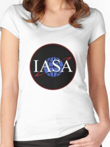 Farscape - International Aeronautics and Space Administration (IASA) Women's Fitted Scoop T-Shirt
