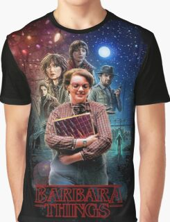 Stranger Things - Barbara Things Graphic T-Shirt