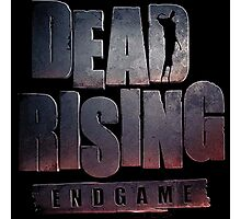 Dead rising end game logo Photographic Print