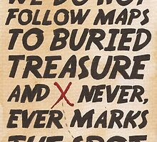We Do Not Follow Maps by Jade Jones