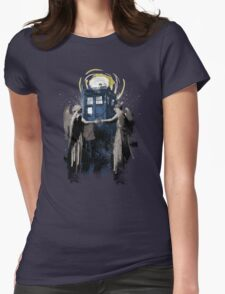 Wibbly Wobbly Blinky Winky Womens Fitted T-Shirt