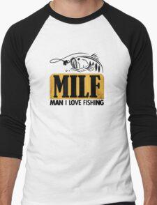 MILF Men's Baseball ¾ T-Shirt