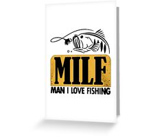 MILF Greeting Card