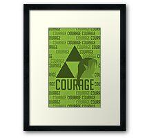 Courage, Legend of Zelda Framed Print
