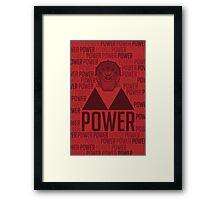 Power, The Legend of Zelda Framed Print