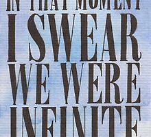 We Were Infinite by Jade Jones