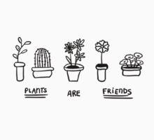 Plants are friends Kids Tee