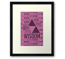 Wisdom, The Legend of Zelda Framed Print