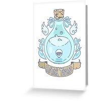 Hater Tears Greeting Card