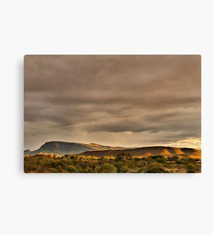 Mount Nameless Tom Price Canvas Print