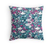 whirly gigs & scootindoots Throw Pillow