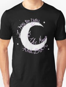 Hate to The Moon Unisex T-Shirt
