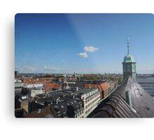 Rooftop seat: Copenhagen Metal Print